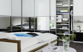 Design A Closet Superb Grand Wardrobe Design With Black Mirror Sectional Doors