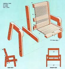Free Woodworking Furniture Plans Pdf by Deck Chair Plans Woodwork City Free Woodworking Plans