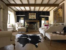 Living Room Ceiling Beams Exposed Beams Ceiling Cottage Living Room