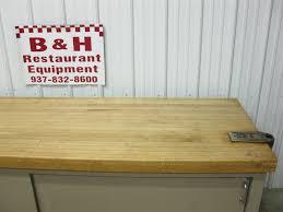 8 x 30 butcher block wood maple top work bakery prep table 2 8 x 30 butcher block wood maple top work bakery prep table 2 door cabinet 96