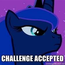Mlp Luna Meme - princess luna meme generated by infamous spartan deviantart com on