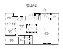 Loft Apartment Floor Plan Chic And Wide Loft Style Apartment In Soho Nolita New York
