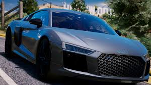 Audi R8 2017 - audi r8 v10 plus 2017 add on replace tuning gta5 mods com
