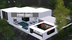 sims 3 modern house floor plans the sims 3 house modern scenic home hd youtube