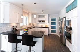cuisine et comptoir cuisine blanche comptoir noir recherche cuisine