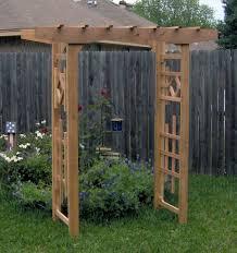 simple backyard arbor how to build backyard arbor u2013 design and