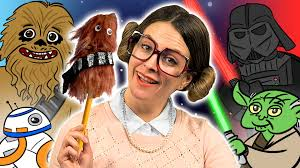 star wars chewbacca pencil topper craft arts and crafts with