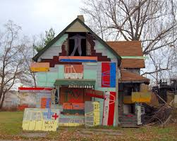 Artist House by Detroit U0027s Powerful Urban Folk Art The Heidelberg Project The