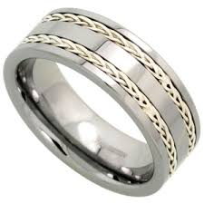rings of men tungsten rings for men with simple and unique design