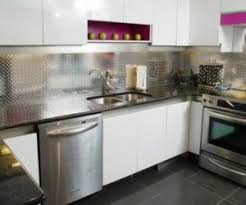 metal backsplash for kitchen choose the best material for your metal backsplash