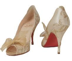 revival boutique cream and gold u0027moon bow u0027 pumps heels shoes