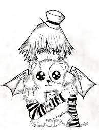 emo anime coloring pages 19 anime manga drawings pinterest emo