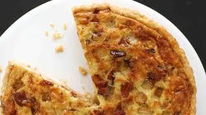 bacon cheese quiche