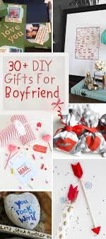 valentines gifts for boyfriend 30 diy gifts for boyfriend 2017