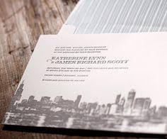 Wedding Invitations Chicago Presidio Letterpress Wedding Invitation By Dauphine Press As Seen