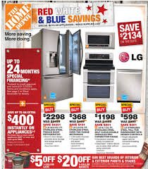 home depot black friday prices on microwaves home depot ad deals for 7 4 7 10 red white u0026 blue savings