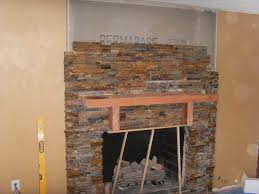 decoration custom stone fireplace