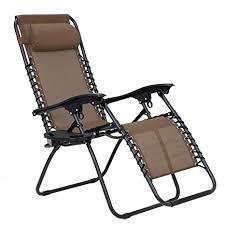 sedia gravity songmics sedia a sdraio zero gravity reclinabile per esterni