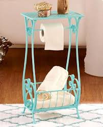 table paper holder bathroom storage table bath stand toilet paper holder towel caddy