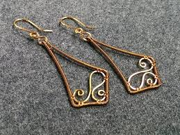 wire earrings wire earrings how to make wire jewelry 146