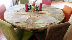diy round kitchen table diy round shaped pallet dining table pallet furniture