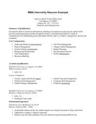 exle of resume for student mba student resume sle shalomhouse us