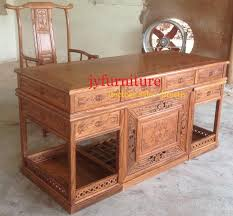 office table and chair set 2018 home desk chair set antique caving high end wood furniture