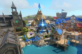 World Map Game Overwatch U0027s Blizzard World Map Is Full Of Fun Easter Eggs Polygon