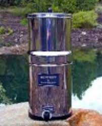 Berkey Water Filter Stand by British Berkefield Stainless Steel Gravity Water Filter With 2