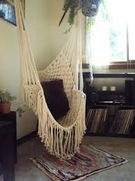 Hammock Chair For Bedroom | hippy hammock macrame chair bohemian living pinterest