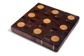 products annie housewife home decor store walnut end grain butcher block maple polka dots