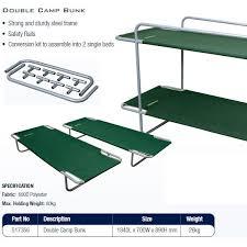 Camping Sleeping Air Bedsstretchersbunksaccessories - Oztrail bunk beds