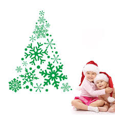 vinyl christmas tree christmas lights decoration aliexpress com buy diy gift merry christmas tree wall stickers vinyl wall decals christmas