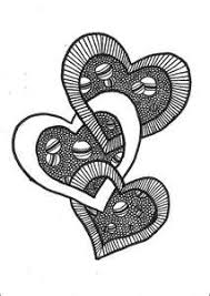 zentangle pattern trio 30 best zentangle hearts images on pinterest doodle art mandalas