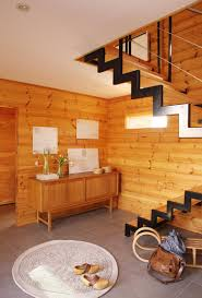 handcrafted modern log house design ideas home improvement innovative raw skin wooden interior design house