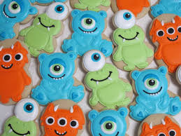 cookie monster baby shower little monster sugar cookies monster inc birthday party cookies