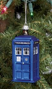 doctor who tardis ornament home kitchen
