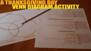 thankfulness venn diagram activity activities for