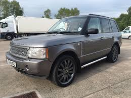 land rover range rover 2008 2008 58 range rover vogue 3 6 tdv8 with extras in coatbridge