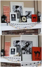 diy fall mantel decor ideas to inspire landeelu com 31 inspiring halloween mantles and tablescapes