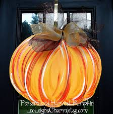 decoration thanksgiving door hanger fall pumpkin fall home decor pumpkin door
