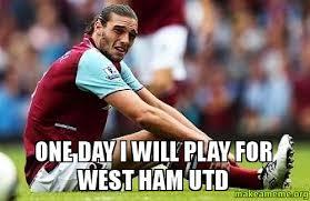 Ham Meme - one day i will play for west ham utd make a meme