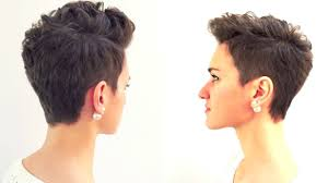 short pixie haircuts for curly hair pixie haircut short hairstyle 2017 gbhdesign youtube