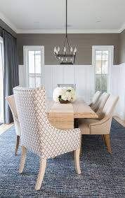 dining room wainscoting in this dining room the designer added a