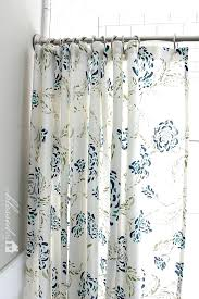shower curtain at target simple bathroom with white blue flower