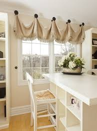 Patio Door Valance Ideas Captivating Swag Curtains For Kitchen And Sliding Door Curtain