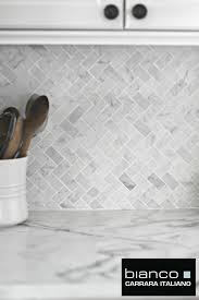 Marble Mosaic Backsplash Tile by 25 Best Herringbone Backsplash Ideas On Pinterest Small Marble