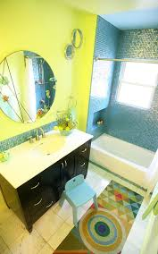 blue and yellow bathroom ideas yellow and blue create a colorful and modern bathroom