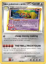 pokémon cards cheap money my card