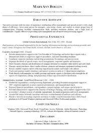 executive assistant resume exles summary resume exles geminifm tk